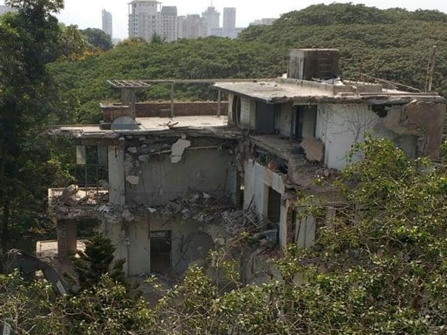 Homi Bhabha,Mehrangir,Demolition