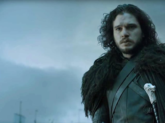 When Jon Snow's character apparently died, thousands of hearts broke