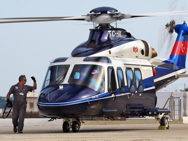 AgustaWestland helicopters