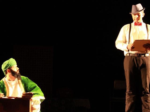Sayeed Alam plays the titular character in Sir Iqbal.