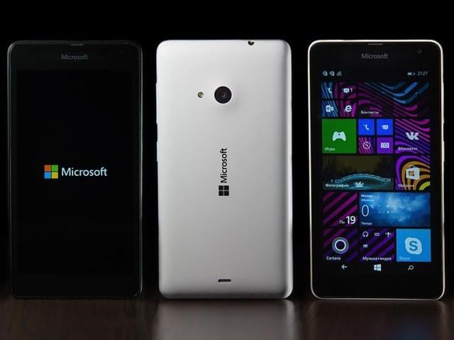 Microsoft will not be manufacturing (phone) devices, at least for the time being. It will do software, however.