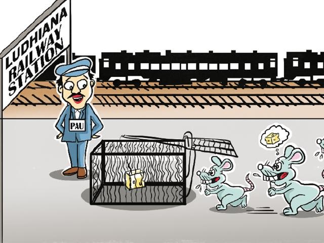 Under the project, which was initiated through techniques, provided by the PAU, rat menace will now be dealt with at six more railway stations.