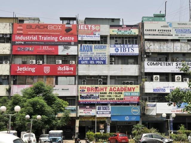 school-hour batches,coaching centres,chandigarh