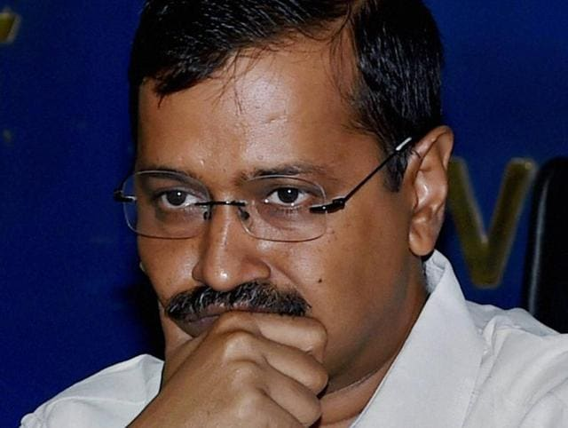 In this file photo, Delhi chief minister Arvind Kejriwal addresses the media regarding in Delhi.