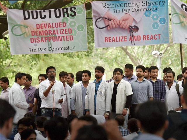 Delhi doctors strike,Delhi resident doctors strike,Lok Nayak Jai Prakash Narayan