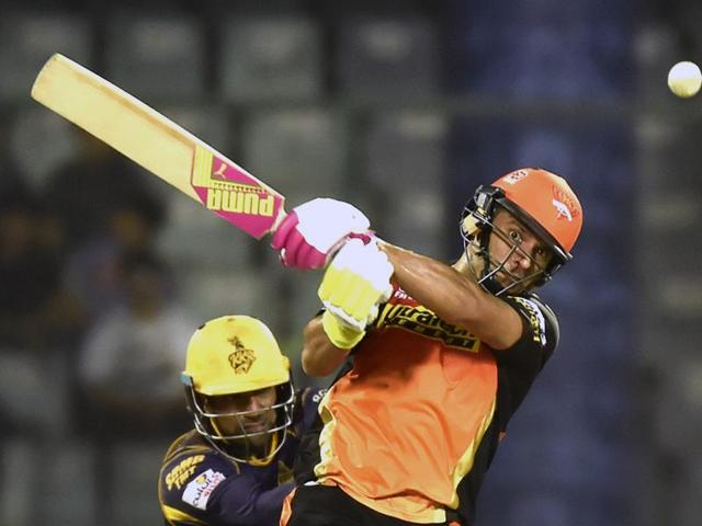 Yuvraj Singh scored a 30-ball 44 against Knight Riders to help Sunrisers qualify for the second qualifier.