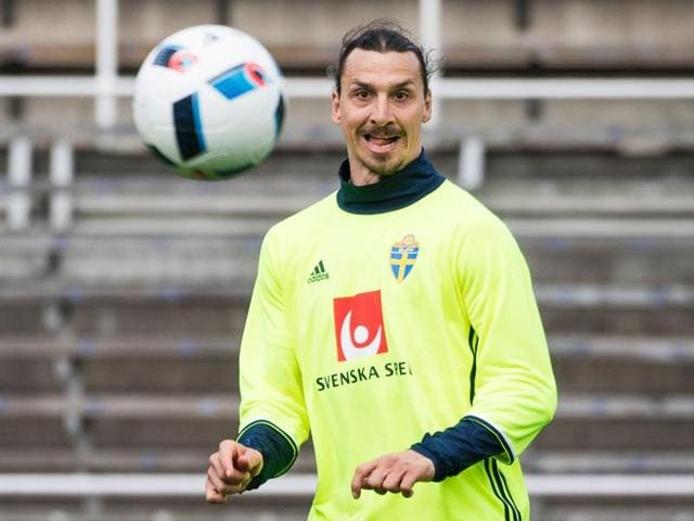 Ibrahimovic, 34, said he knew where he would be playing football next season having left Paris Saint-Germain at the end of this season, but would not say where that will be.