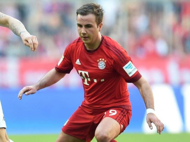 Goetze only returned to fitness in February following a five-month injury break and made just 11 starts for Bayern in the Bundesliga, scoring three goals.