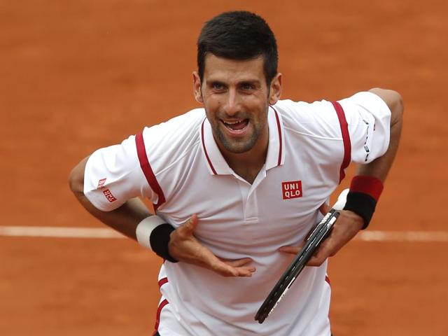 Novak Djokovic notched his 50th French Open match win to enter the third round.