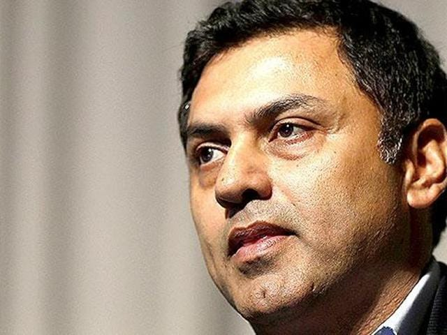 Nikesh Arora, the India-born President of Japanese telecom and internet giant Softbank.