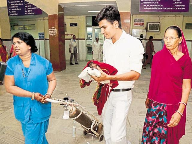 Sixteen infant deaths were reported in 11 days at JLNhospital in Ajmer.