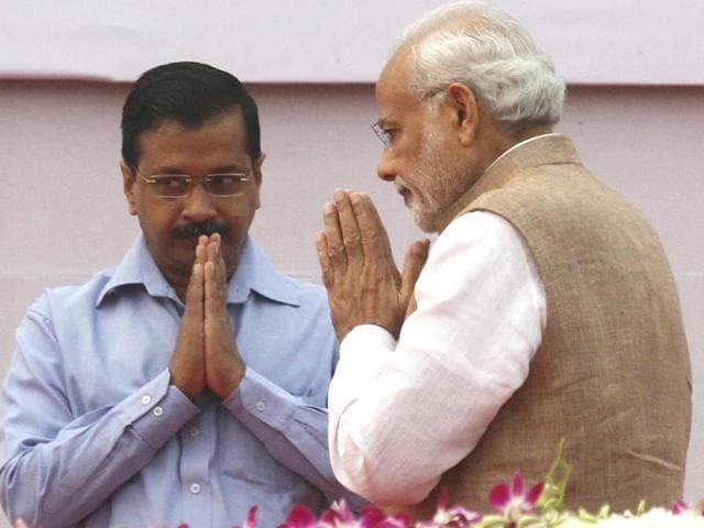 Arvind Kejriwal attacked Prime Minister Narendra Modi in a series of tweets on Thursday as NDAgovernment completes two years in power.