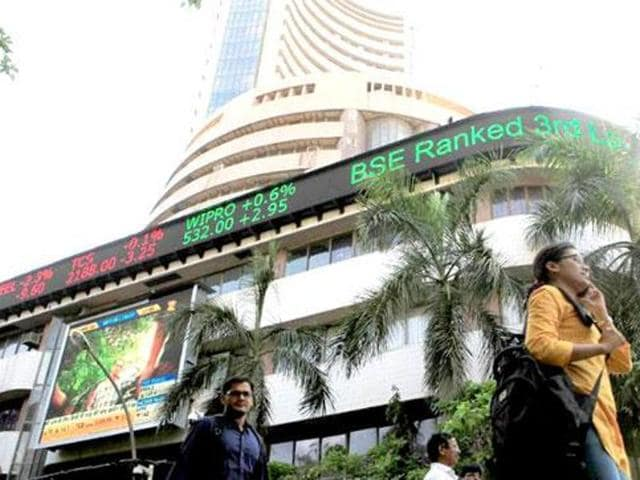 The Sensex opened strong and surged further before settling at 26,366.68, a solid gain of 485.51 points, or 1.88%. The barometer ended at 26,552.92 on November 4 last year.
