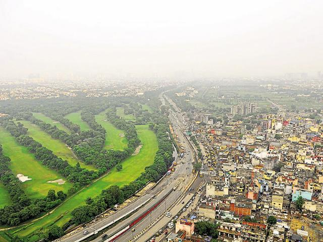 The authority had conceived the elevated road in 2012 to decongest DSC Road and provide a signal-free ride to thousands of motorists who face traffic congestion near Barola, Bhangel and Salarpur villages situated along the road.