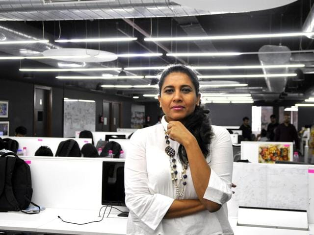 Suchi Mukherjee, CEO and founder of LimeRoad, an online shopping site for women's apparel, enjoys creating new things.