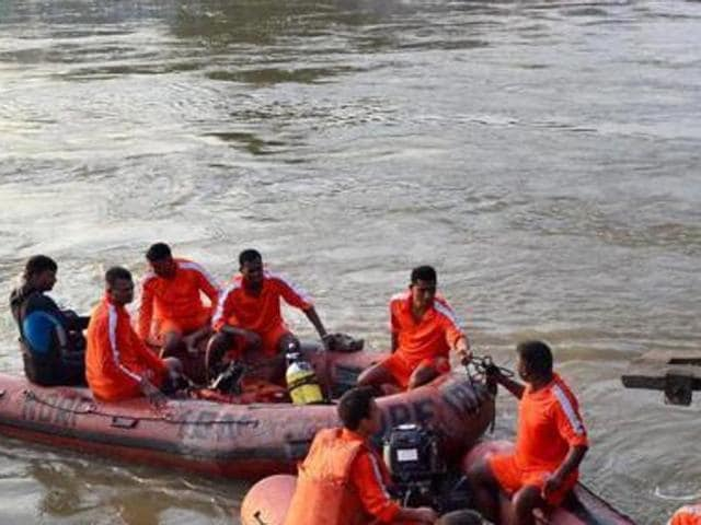 Eight people were feared drowned after an overcrowded boat capsized in Ganga river in Katihar