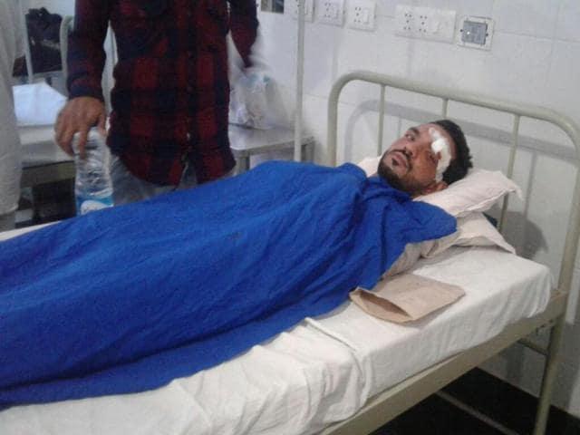 Radha Swami Satsang Beas,Beas,Several injured