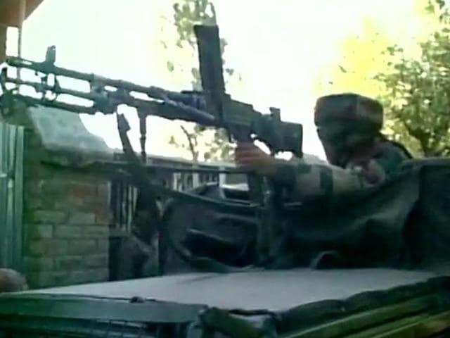 Encounter,Militants,Baramulla