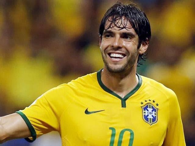 A file photo of Brazil midfielder Kaka.