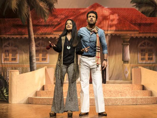 A scene from Loretta, Sunil Shanbag's play revolving around the concepts of identity, chauvinistic pride and anxieties.
