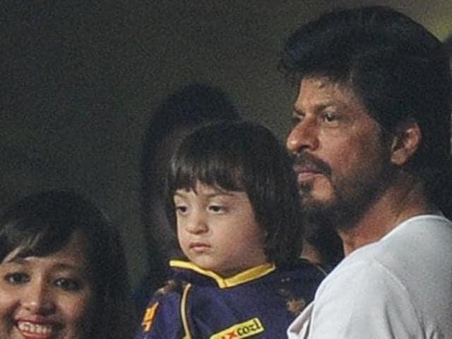 Shah Rukh Khan,AbRam,Son