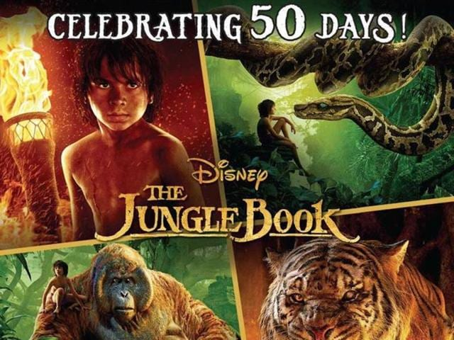 Disney's The Jungle Book, which brings an enchanting story of a boy raised in the Indian jungles, has minted over Rs180 crore till now.