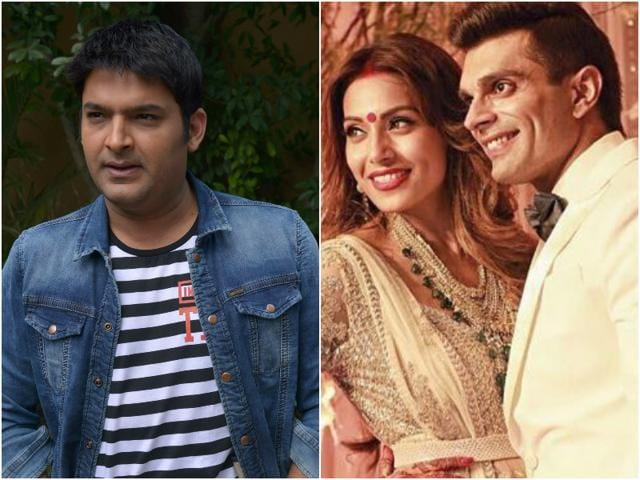 Freshly returned from their honeymoon, Bipasha and Karan will make their public appearance as a couple on  Kapil's show.