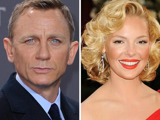 Daniel Craig and Katherine Heigl will star in a NASCAR heist film.