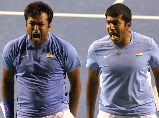 A file photo of Leander Paes and Rohan Bopanna.