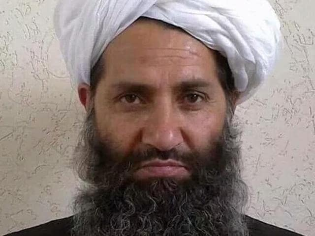 This undated handout photograph released by the Afghan Taliban on May 25, 2016 shows Mullah Haibatullah Akhundzada, the new leader of the insurgent group.