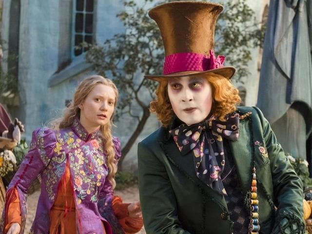 Alice returns to the whimsical world of Underland to help the Hatter in Disney's Alice Through the Looking Glass.