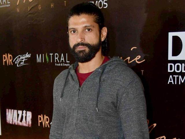 Actor Farhan Akhtar is in the process of writing the script for an award function, which he will be hosting.