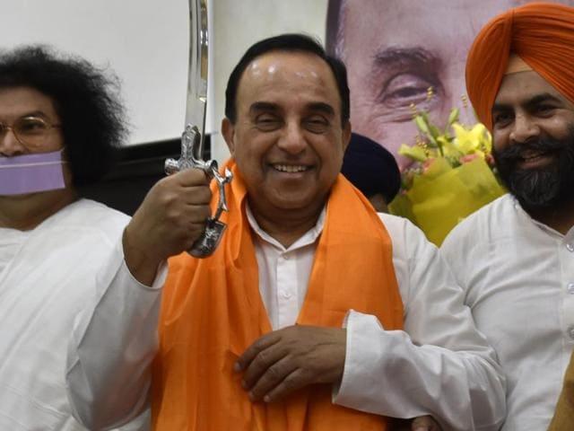 BJP leader Subramanian Swami said he'll ensure Ram Mandir construction in Ayodhya starts by December.