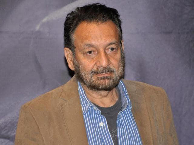 Filmmaker Shekhar Kapur at the launch of his documentary on Mata Amritanandamayi in Mumbai.