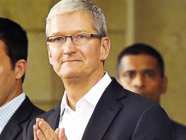 Apple,Tim Cook,Ambanis