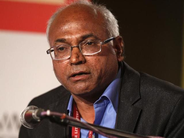 "Kancha Ilaiah, one of India's most prominent Dalit thinkers and author of Why I am not a Hindu, has come under attack for allegedly calling Brahmins ""lazy"" and ""gluttons"".(HT File Photo)"