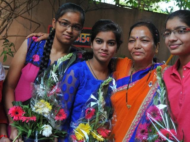 Girls outshine boys in the CBSE Class 10 exams results for which were declared on Saturday.