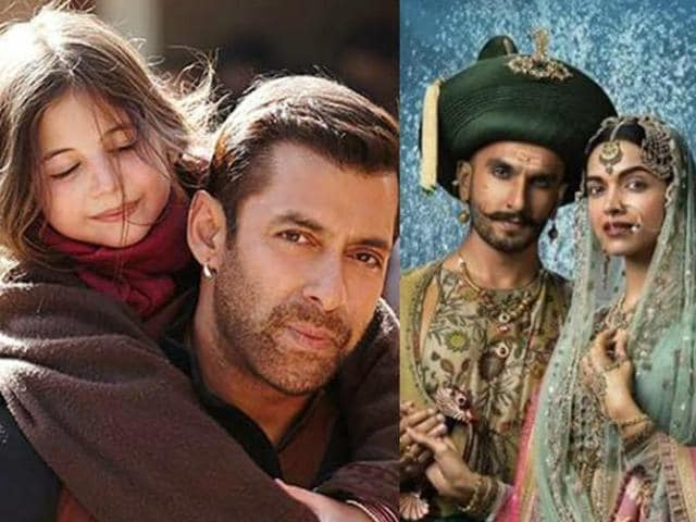 Deepika Padukone and Ranveer Singh starrer Bajirao Mastani has scored eight nominations while Salman Khan's Bajrangi Bhaijaan follow close with seven nominations.