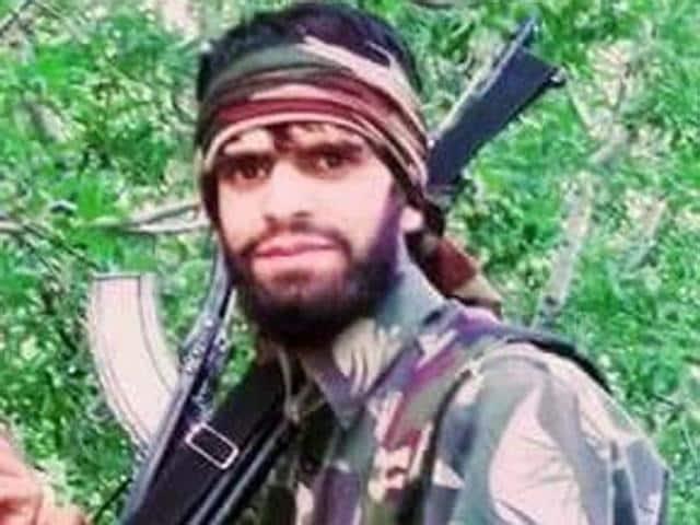 Tariq Pandit, a top commander of the Hizbul, surrendered before the 50 Rashtriya Rifles in Pulwama district of Kashmir region.