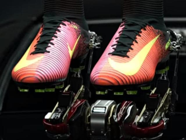 ca3af143818d Ronaldo unveils his new Nike boots ahead of Champions League final ...