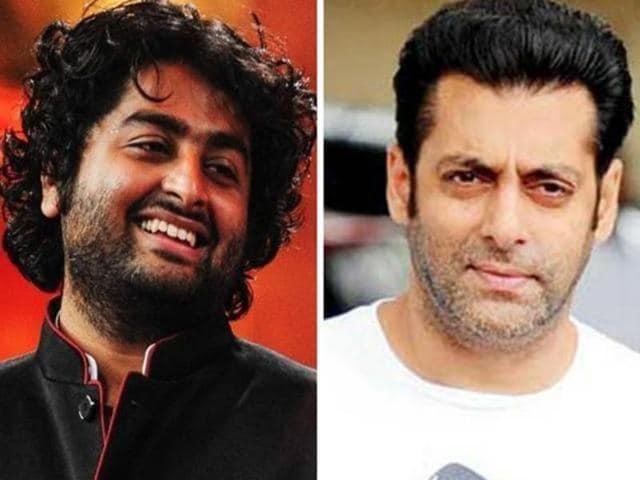Salman Khan,Arijit Singh,Bollywood