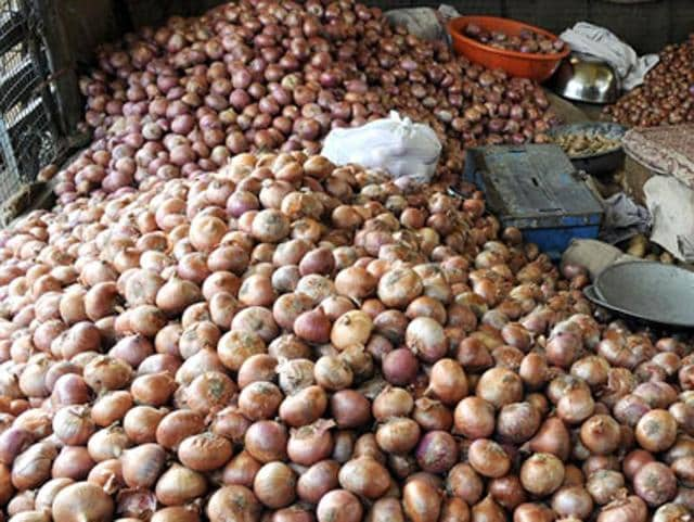 Onions are selling for Rs 17-18 a kg in Chandigarh.