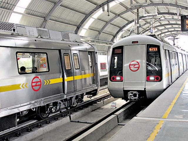 Passengers travelling on Delhi Metro's Blue Line (Dwarka-Noida/Vaishali) went through a harrowing time on Friday as a technical snag slowed trains down on the line for the entire day.
