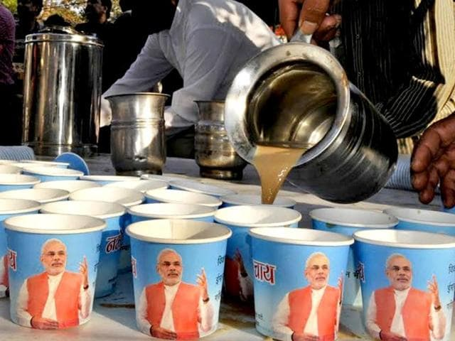 The BJP has proposed has setting up NaMo tea and food stalls across Mumbai to compete with the Shiv Sena's Shiv Vada Pav.