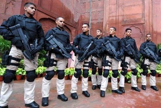The elite NSG commandoes, the bulwark of India's counter-terrorism and anti-hijacking defence, and central paramilitary forces such as the CRPF, BSF, ITBP