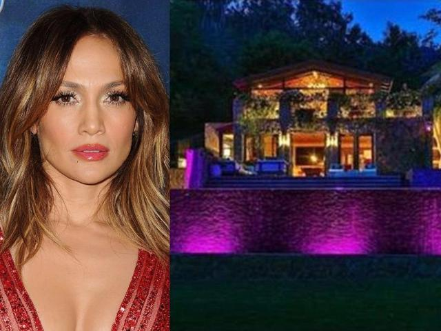 Jennifer Lopez's $28m new pad comes complete with two pools, miniature golf course, babbling brook, amphitheater and 8 acres of LA's most exclusive land.