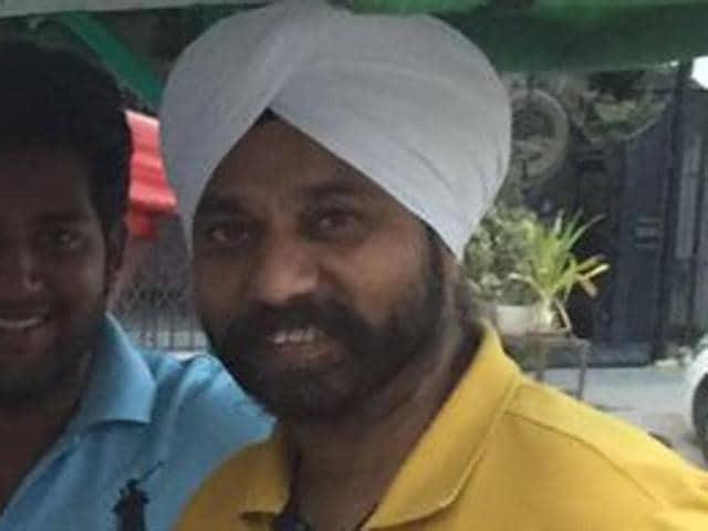 The Aam Aadmi Party's Hari Nagar MLA Jagdeep Singh