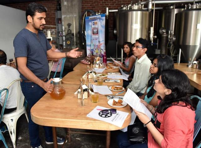 Beer enthusiasts were in for a treat at a craft beer session in Andheri.