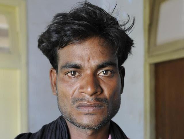 Kamlesh Sehariya of Tati village has been working as a bonded labourer since he was a boy of 15.