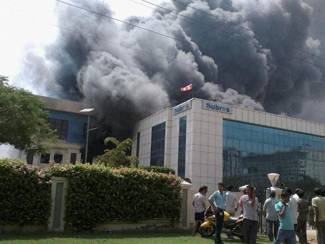 Fire accident,Manesar,AC manufacturing unit